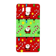 Christmas pattern - green and red Samsung Galaxy Alpha Hardshell Back Case
