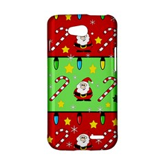 Christmas pattern - green and red LG L90 D410