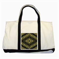 Yyyyyyyyy Two Tone Tote Bag
