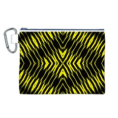 Yyyyyyyyy Canvas Cosmetic Bag (l)