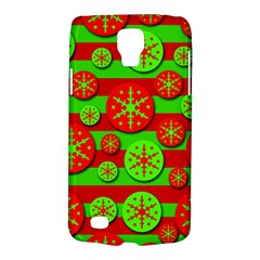 Snowflake red and green pattern Galaxy S4 Active