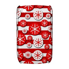 Snowflake red and white pattern Curve 8520 9300