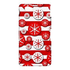 Snowflake red and white pattern Sony Xperia Z1 Compact