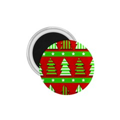 Christmas trees pattern 1.75  Magnets