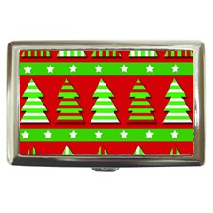 Christmas trees pattern Cigarette Money Cases