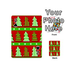 Christmas trees pattern Playing Cards 54 (Mini)