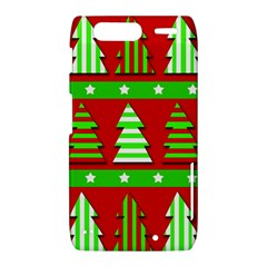 Christmas trees pattern Motorola Droid Razr XT912