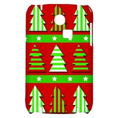 Christmas trees pattern Samsung S3350 Hardshell Case