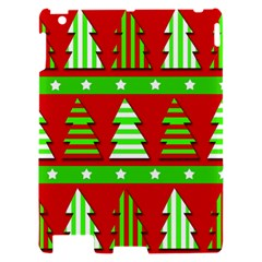 Christmas trees pattern Apple iPad 2 Hardshell Case