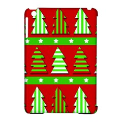 Christmas trees pattern Apple iPad Mini Hardshell Case (Compatible with Smart Cover)