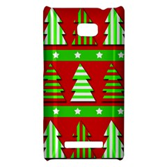 Christmas trees pattern HTC 8X