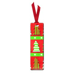 Christmas trees pattern Small Book Marks
