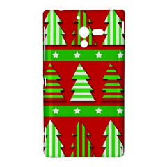 Christmas trees pattern Sony Xperia ZL (L35H)