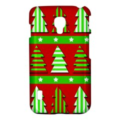Christmas trees pattern LG Optimus L7 II