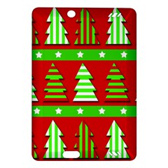 Christmas trees pattern Amazon Kindle Fire HD (2013) Hardshell Case