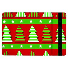 Christmas trees pattern iPad Air Flip