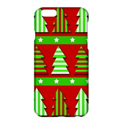 Christmas trees pattern Apple iPhone 6 Plus/6S Plus Hardshell Case