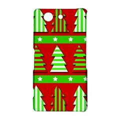 Christmas trees pattern Sony Xperia Z3 Compact