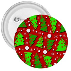 Twisted Christmas trees 3  Buttons