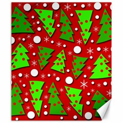 Twisted Christmas trees Canvas 20  x 24