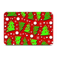 Twisted Christmas trees Plate Mats