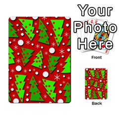 Twisted Christmas Trees Multi Purpose Cards (rectangle)
