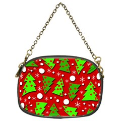 Twisted Christmas trees Chain Purses (One Side)