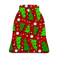 Twisted Christmas trees Ornament (Bell)