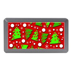Twisted Christmas trees Memory Card Reader (Mini)
