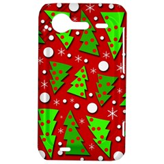 Twisted Christmas trees HTC Incredible S Hardshell Case