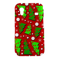 Twisted Christmas trees Samsung Galaxy Ace S5830 Hardshell Case