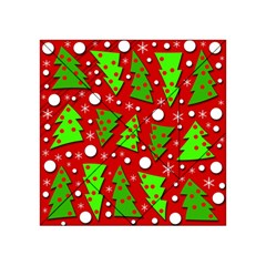 Twisted Christmas trees Acrylic Tangram Puzzle (4  x 4 )
