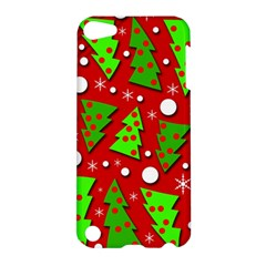 Twisted Christmas trees Apple iPod Touch 5 Hardshell Case
