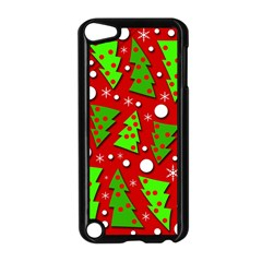 Twisted Christmas trees Apple iPod Touch 5 Case (Black)
