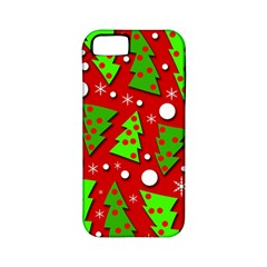 Twisted Christmas trees Apple iPhone 5 Classic Hardshell Case (PC+Silicone)