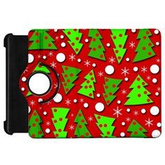 Twisted Christmas trees Kindle Fire HD Flip 360 Case