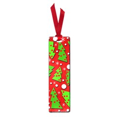 Twisted Christmas trees Small Book Marks
