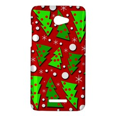 Twisted Christmas trees HTC Butterfly X920E Hardshell Case