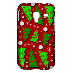 Twisted Christmas trees Samsung Galaxy Ace Plus S7500 Hardshell Case
