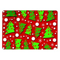 Twisted Christmas trees Samsung Galaxy Tab 10.1  P7500 Flip Case