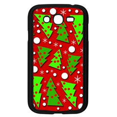 Twisted Christmas trees Samsung Galaxy Grand DUOS I9082 Case (Black)