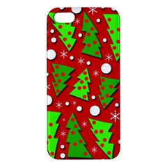 Twisted Christmas trees iPhone 5S/ SE Premium Hardshell Case