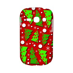 Twisted Christmas trees Samsung Galaxy S6810 Hardshell Case