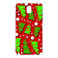 Twisted Christmas trees Samsung Galaxy Note 3 N9005 Hardshell Back Case