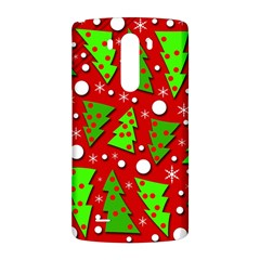 Twisted Christmas trees LG G3 Back Case