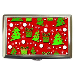 Christmas trees and gifts pattern Cigarette Money Cases