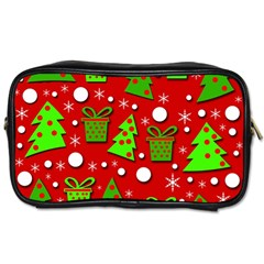 Christmas trees and gifts pattern Toiletries Bags