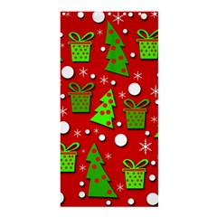 Christmas trees and gifts pattern Shower Curtain 36  x 72  (Stall)