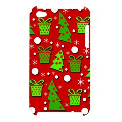 Christmas trees and gifts pattern Apple iPod Touch 4