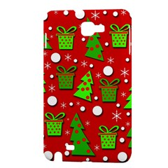 Christmas trees and gifts pattern Samsung Galaxy Note 1 Hardshell Case